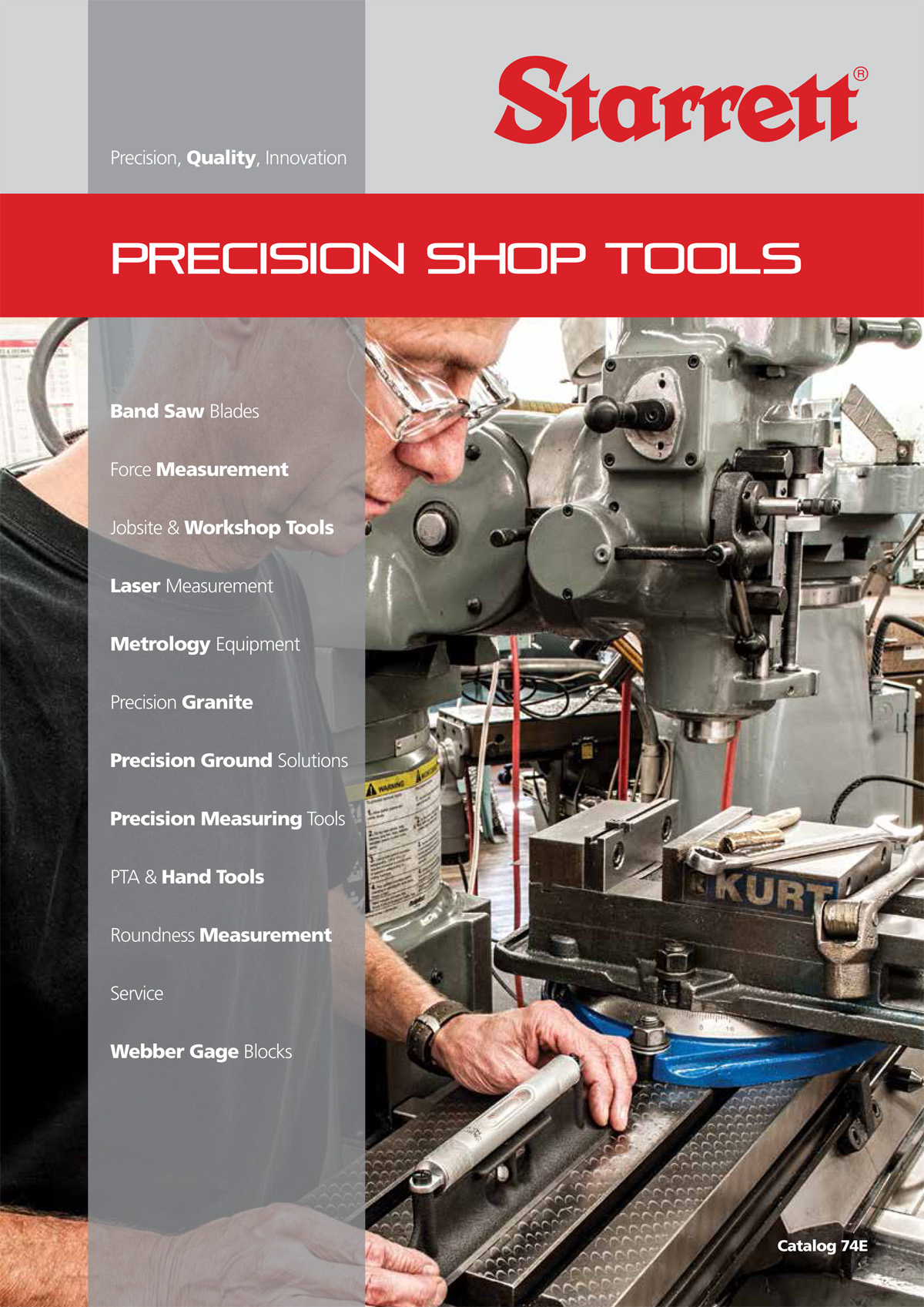 Starrett Precision Shop Tool Catalogue 7